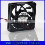 70mm Pbt Plastic Sleeve Bearing 12v Dc Fan for Kitchen, Bathroom Ventilation Fan 12v 24v cabinet cooling fan