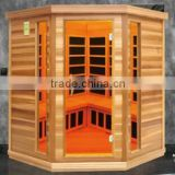 Slimming and skin tighting Low EMF Far Infrared Sauna Cabin for Beauty Salon(CE/ISO/ETL/TUV/RoHS)