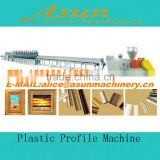 PVC wood plastic profile production line with price /PVC wood plastic making machinery/Made in Jiaozhou