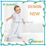 6 layers Muslin cotton baby sleeping bag