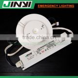 Rechargeable led recessed round emergency ceiling light spitfire