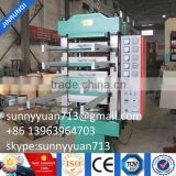 Hydraulic Rubber Ground Tile Press / Rubber Mat Vulcanizer/rubber Bricks Making Machine