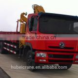12ton knuckle boom Crane and Accessories,SQ240ZB4, hydraulic truck mounted crane.