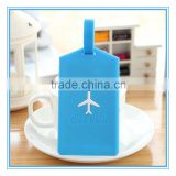 Wholesale luggage swing tag silicone rubber pvc swing tag promotion custom baggage swing tag for giveaway gift