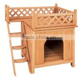 Indoor & Outdoor Floor Wooden Cat House/Dog House/Pet Nest