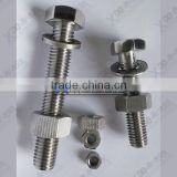 309S UNS S30908 EN1.4833 China hardware stainless steel fastener stainless steel bolts and nuts manufacturing price