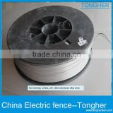 stainless steel wire for electric fencing material accessories factory-----Tongher Technology