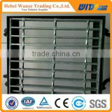 Galvanized steel grating weight / stainless steel grating / floor grating for factory