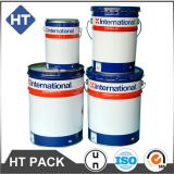 1 gallon/5l/5gallon/10l/20l printed paint bucket with lug lid,un solvent pail metal handle,chemical steel drums logo