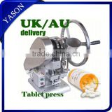 TDP1.5 single punch tablet press pill press machine tablet machine with 1 set free round die