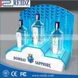 Very famous good quality good look acrylic display led lighting logo cabinet