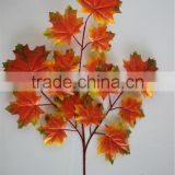 natural design artificial leaves romantic artificial vine leaves artificial maple for decoration