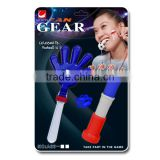 2016 Euro Cup football fans plastic cheering handclapper and horn set/ fan gears / soccer fans noise maker kit