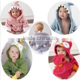 2016 Cheap coral fleece baby kids bathrobe wholesale/cheap bathrobe for kids