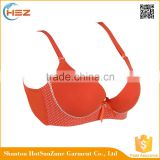 HSZ-58020 In Stock Women Sexy Colorful Underwear Indian Bra Girls Lingerie Set Wholesale