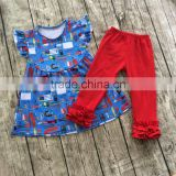 Factory price sales wholesale girls clothes back to school outfit