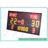 LED Basketball Scoreboard with 24s shot clock