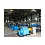 6 X 2MW Electric Power Station Four Stroke Generator Set Pressure Lubrication Method