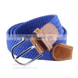 Fashion Leisure Elastic Stretch Needle Woven Belts
