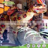 Kids Attraction Remote Control Dinosaur Rides