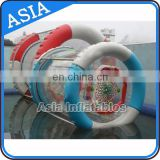 High Quality Inflatable Water Wheel with metal frame