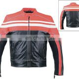 HMB-0412E LEATHER MOTORBIKE JACKETS MOTORCYCLE BIKER COATS