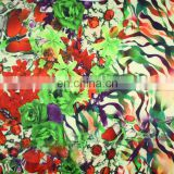 OEM digital print wool fabric