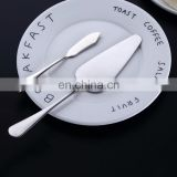Factory Stock Tableware,Wholesale Butter Knife,Drop Shipping Cake Shovel 2 in 1 410 Stainless Steel Mirror Polishing