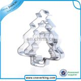 Christmas decoration supplies color coated cookie cutter