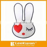 Cartoon Lovely Rabbit Applique Embroidery Patch For Garment Decoration