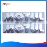 China Manufacturer custom size bumper stickers label