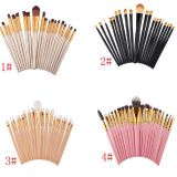 High Quality 20Pcs Wood Cosmetic brush Makeup Brushes Free Samples Makeup Brush Set