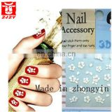 3d nail sticker and nail decal sticker and nail art designs
