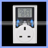 European Plug Weekly Multifunction Large Count Down Digital Timer Switch from Manufacturer