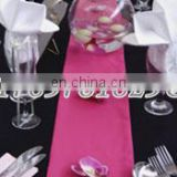 satin bridal table runner