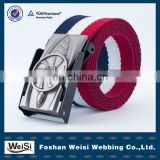 customized design wholesale fashion pattern webbing belt