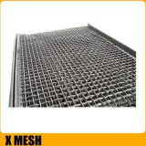 65mn Stone Crush Crimped Woven Wire Mesh