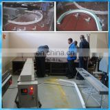 UPVC window machine for arch bending frame