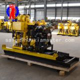 The household well drilling machine can be moved to lift the drilling fast 200 meters hydraulic drilling deep water well drilling rig hydraulic pressure efficiency is high