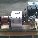 gasoline engine powered winch; pulling motored winch; cable pulling motored engine winch