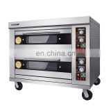 Marine stainless steel 2 deck 4 trays baking oven
