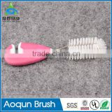 High quality baby bottle nipple brush set