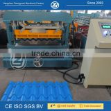 Steel tile making machine with automatic hydraulic cutting                                                                                                         Supplier's Choice