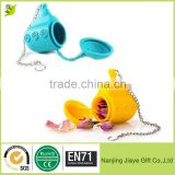 Submarine Silicone Tea Leaf Infuser Strainer for Drinking Water Bottle
