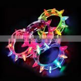 New Arrival Multi colors night glow stick flashing bracelet light sticks festival items DIY led party kids toy