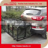 special design 4x4 off road accessories hitch mounted trailer carrier with car trunk organizer bag