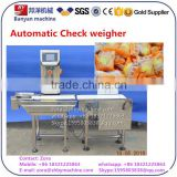 BY-XBC automatic check weigher, conveyor metal detector for food / medicine / snack Shanghai factory
