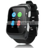 WIFI 3G WCDMA smart watch phone with 1.3G Quad-cores MTK6580M CPU GPS Navigation 2.0 camera Android 5.1 OS Bluetooth 4.0