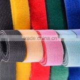 Custom adhesive Double Side Hook and loop tape for cable mangement                                                                         Quality Choice
