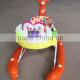 ALIBABA HOT SALE Multi-function baby walker with music and toys/New model Kids baby walker with brakes for sale
